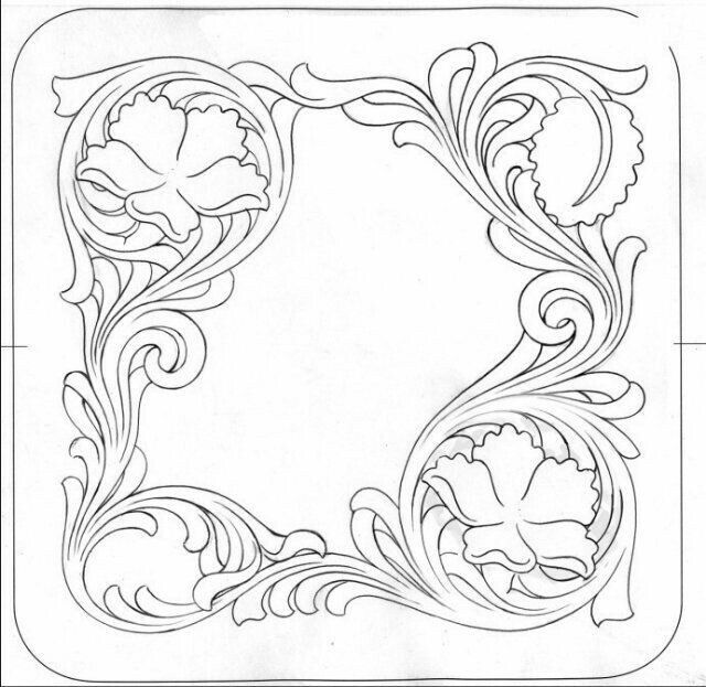Divine image with regard to free printable leather tooling patterns