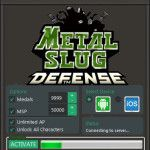 Download free online Game Hack Cheats Tool Facebook Or Mobile Games key or generator for programs all for free download just get on the Mirror links,Metal Slug Defense Hack Tool Android and iOS We want to present you an amazing tool called Metal Slug Defense Hack Tool With our Metal Slug Defense Train...