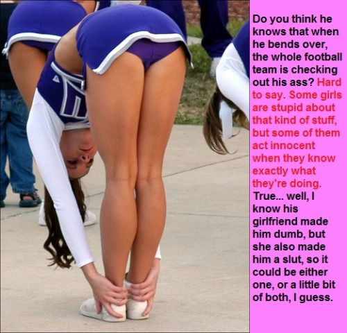 cheerleader slut stories