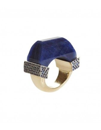 Sapphire Never Ending Ring