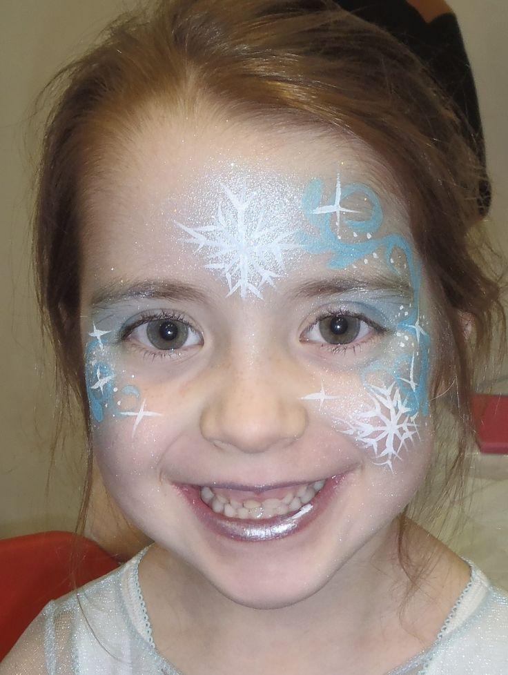 Elsa Frozen Face Paint                                                       …