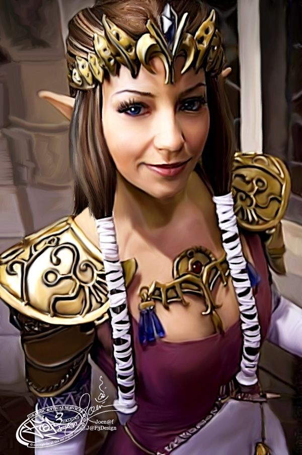 Amazing Twilight Princess Zelda  By Joen@f