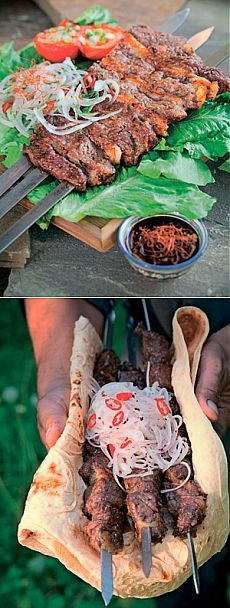 3 рецепта шашлыка от Хакима Ганиева: очень простой маринад. Восточная кухня