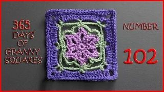 365 days of granny squares number 102 - YouTube