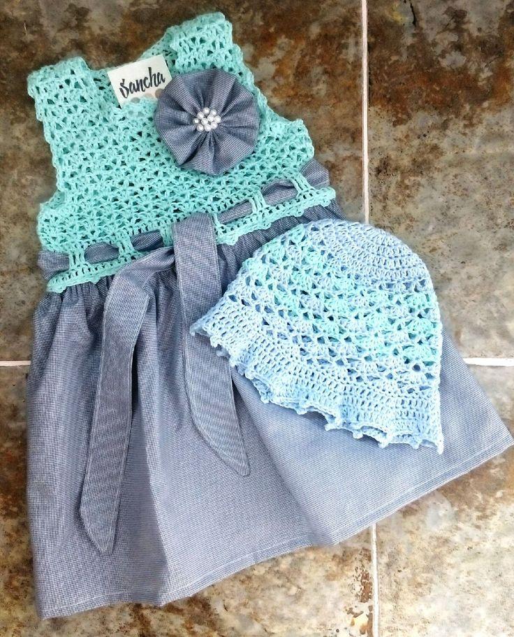 Купить Платье для девочки - платье, платье крючком, для девочки, для малышки, для новорожденных, подарок, сарафан, летний