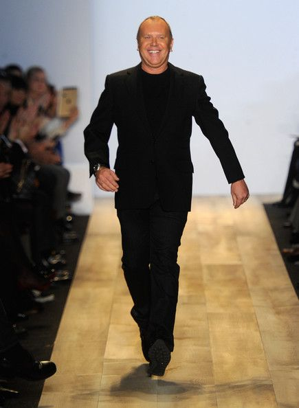 Designer Michael Kors walks the runway at the Michael Kors Fall 2012 fashion show during Mercedes-Benz Fashion Week at The Theatre at Lincoln Center on February 15, 2012 in New York City.