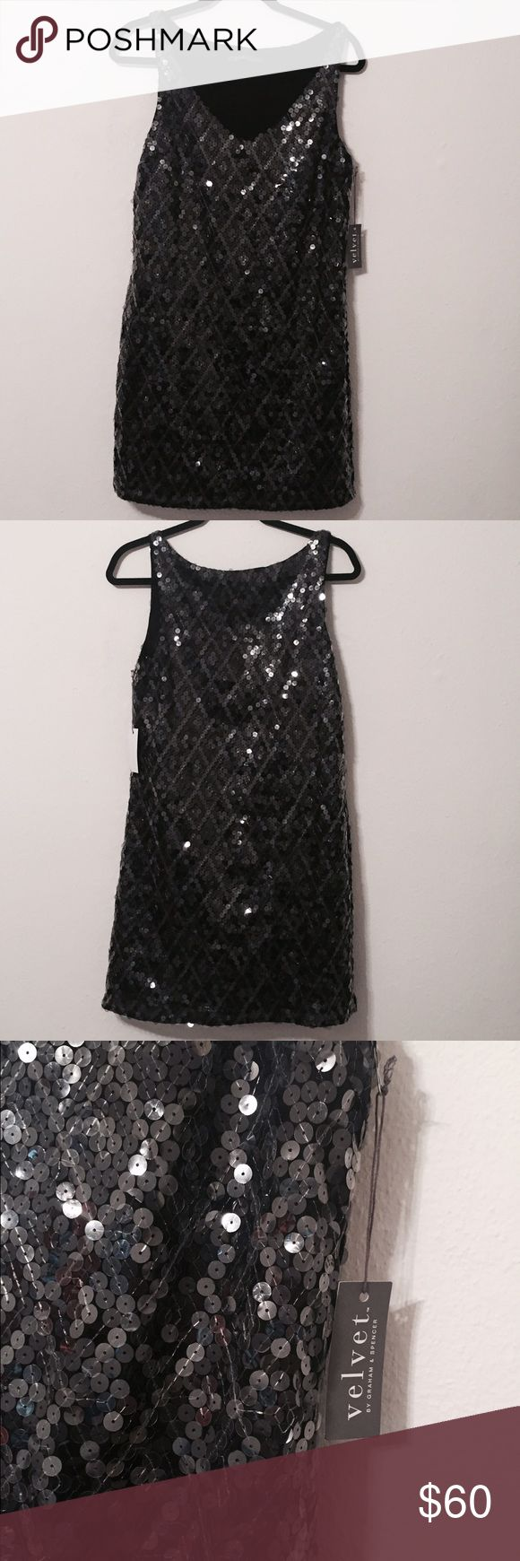 VELVET by Graham & Spencer Dress A beautiful Sequin dress that's new and comes with its tags! Graham & Spencer Dresses