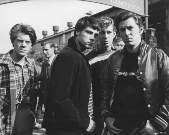 #Sixties | David Jarrett, Oliver Reed, Brian Murray and Brian Bedford in The Angry Silence, 1960