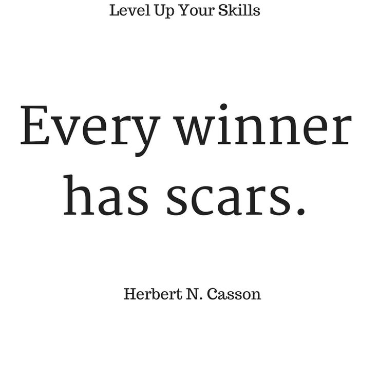 Every winner has scars. #Inspiration #Success https://levelupyourskills.com/quotes/success-quotes/nggallery/page/2/