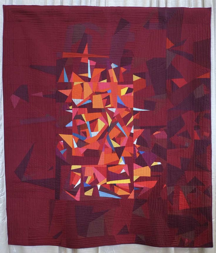 84 best Quilts: Red images on Pinterest | Modern, Painting and ... : modern style quilts - Adamdwight.com