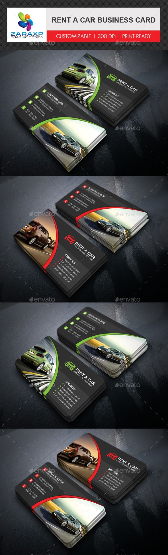 Rent A Car Business Card Template PSD #visitcard #design Download: http://graphicriver.net/item/rent-a-car-business-card/13495756?ref=ksioks
