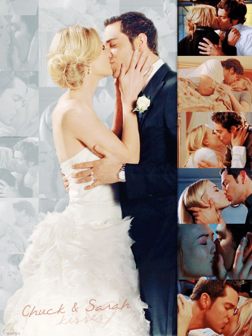 Chuck and Sarah ♥  Essa série é simplesmente... Sensacional. I've been watching the whole series again and I love these two.