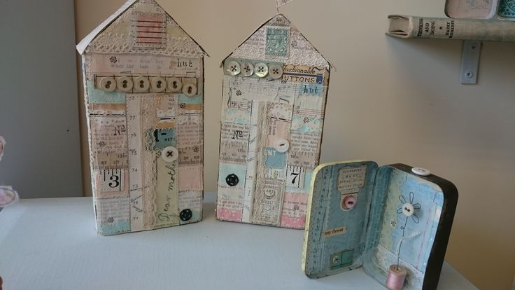 Mixed media artwork by Fiona Robinson