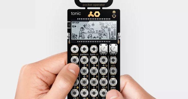 Mini sintetizador permite criar sua própria música eletrônica