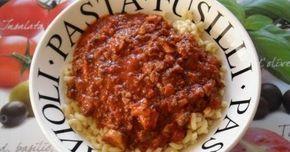 Een pastasaus die geschikt is voor alle soorten pasta. Puur en gezond, rijk aan vitamines!