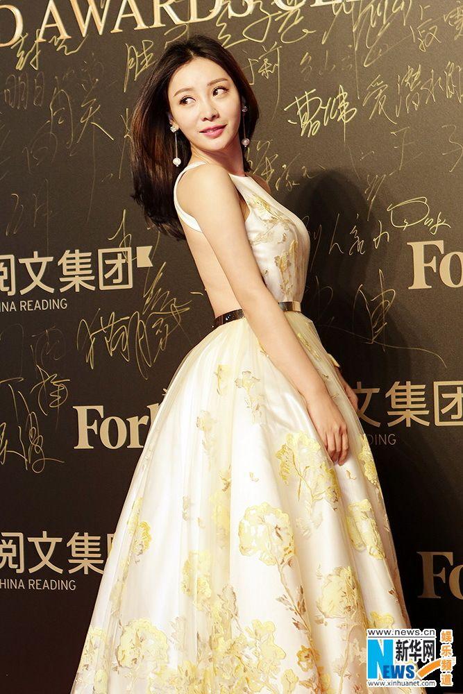 Chinese actress Liu Yan  http://www.chinaentertainmentnews.com/2016/01/liu-yan-in-shanghai-for-event.html