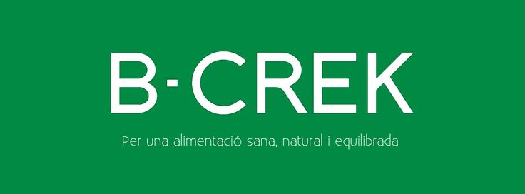 B-CREK :: Menjar Sa, Natural i Equilibrat