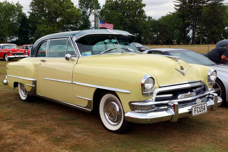 1954 Chrysler New Yorker Hardtop | At Morrinsville , NZ .