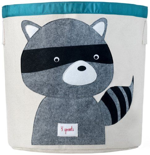 Help your kids clean up their acts with our cute animal storage bins. This bin is well sized for storing toys or as a laundry hamper. The storage b...