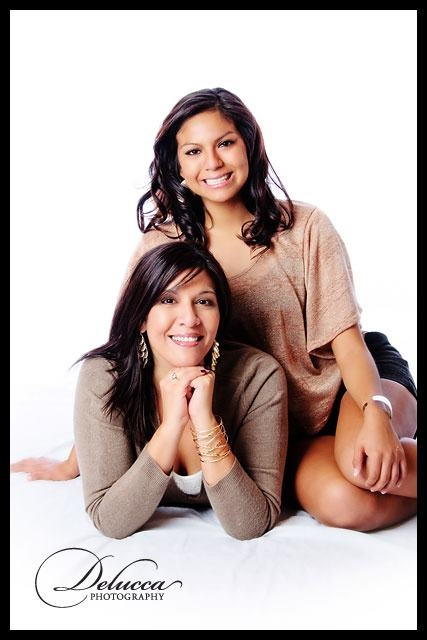 I love it when my son and I get together for our annual Mother / Daughter picture!