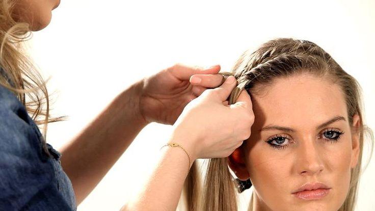 How to Do a Fishtail Headband | Braid Tutorials