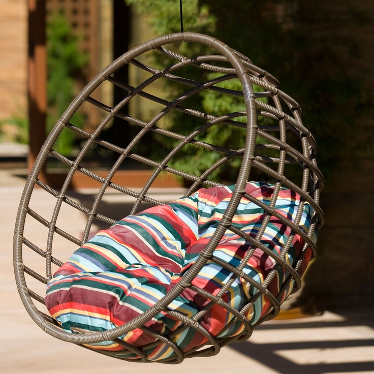 Outback Company Cocoa Sphere Hanging Chair-- I WANT!