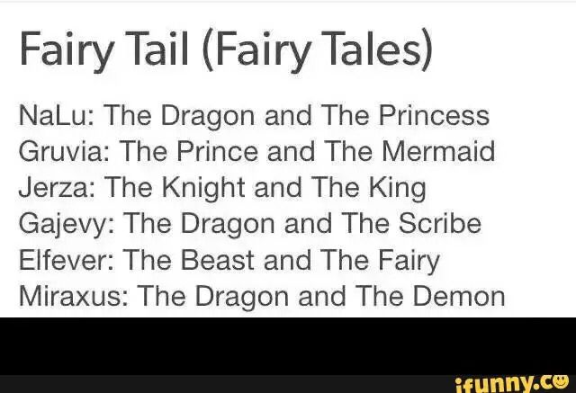 Fairy Tales in Fairy Tail