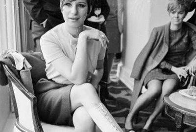 Barbara Streisand looking glamorous in 1966.