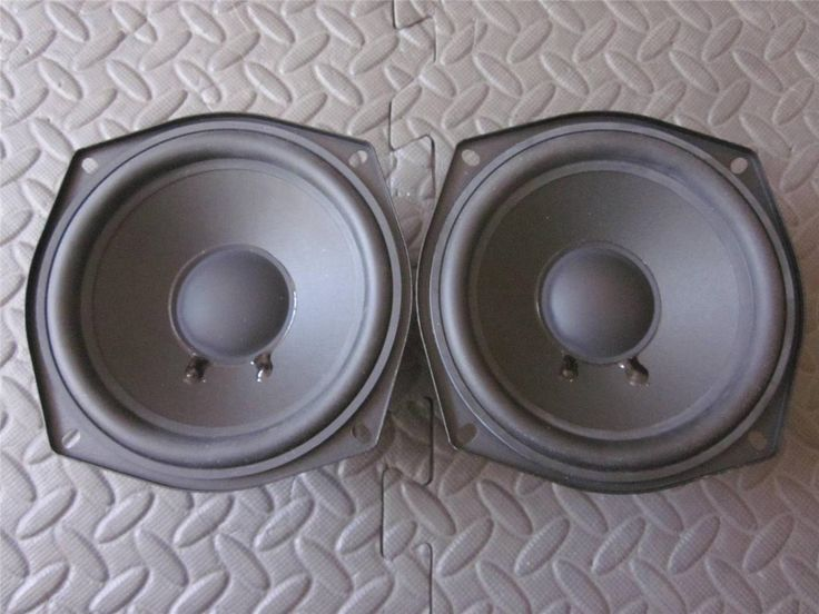 Speaker Parts and Components: (2) Definitive Technology 5.25 Woofer Speakers.5-1/4 Pin Cushion.Bp6.Bp8.Pair BUY IT NOW ONLY: $59.99