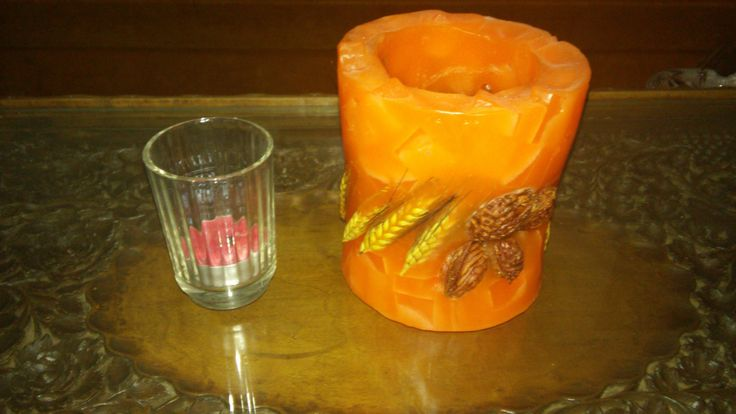 candle holder by Mmancrafts on Etsy