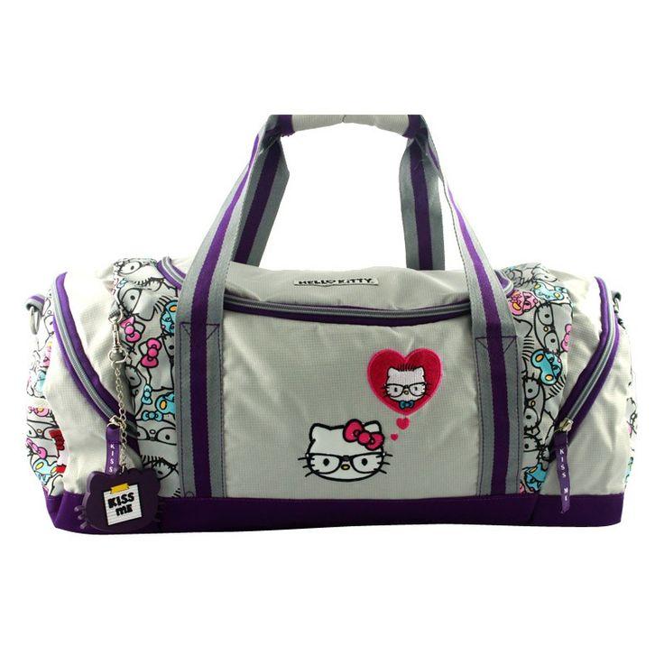 Bolsa/mala Hello Kitty Cinza HKGK203 Coleção 2012
