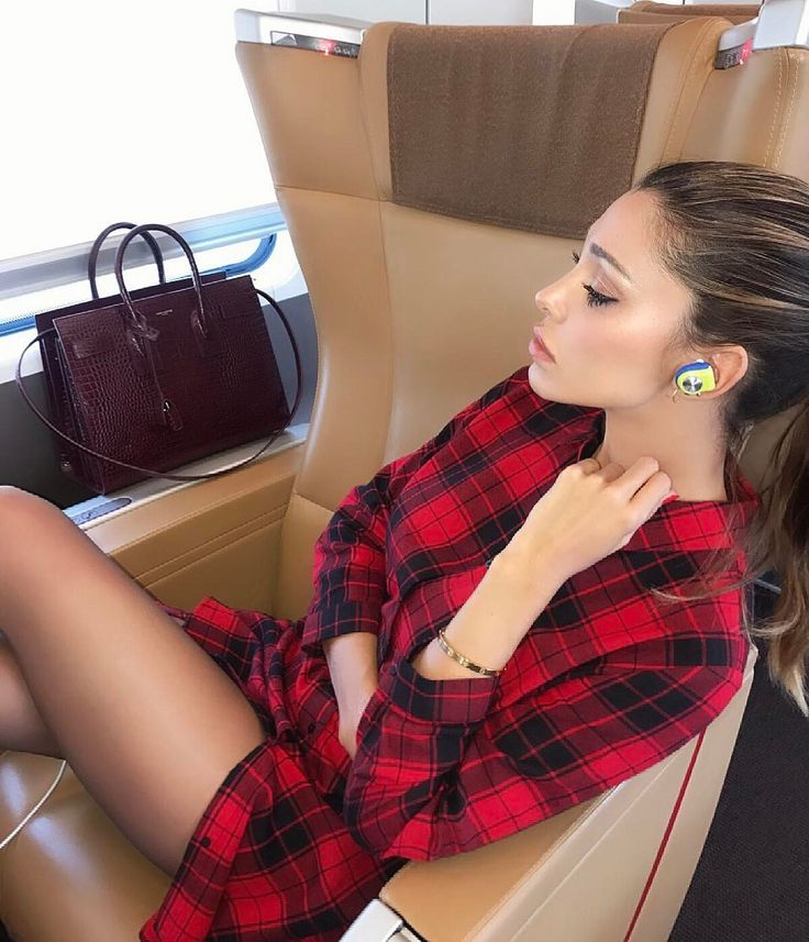 Belen Rodriguez |  travelling outfit