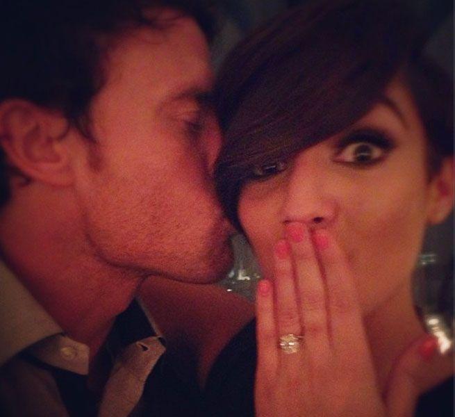 Frankie Sandfords Engagment Ring - 5 Star Wedding Blog - Luxury Weddings