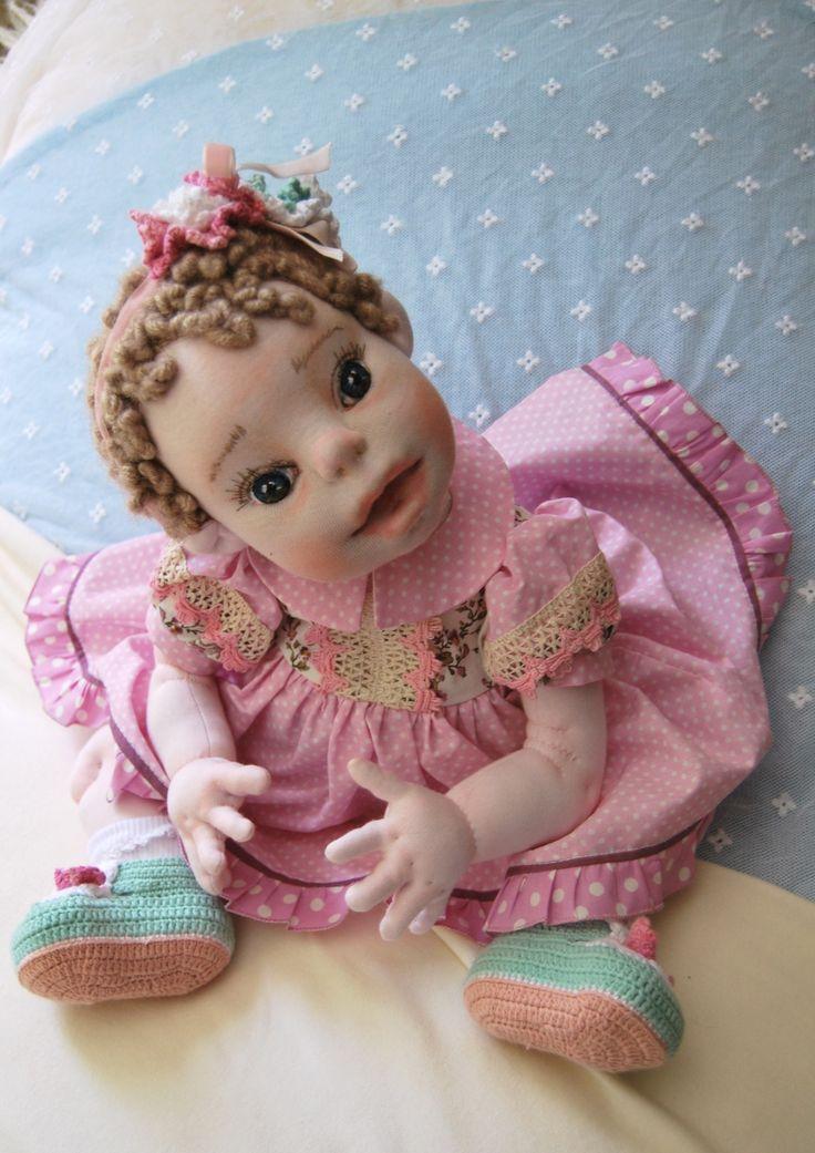 "NINA 20""Soft Sculptured Doll."