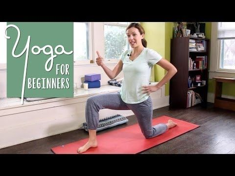 ▶ Yoga For Beginners - 40 Minute Home Yoga Workout - YouTube