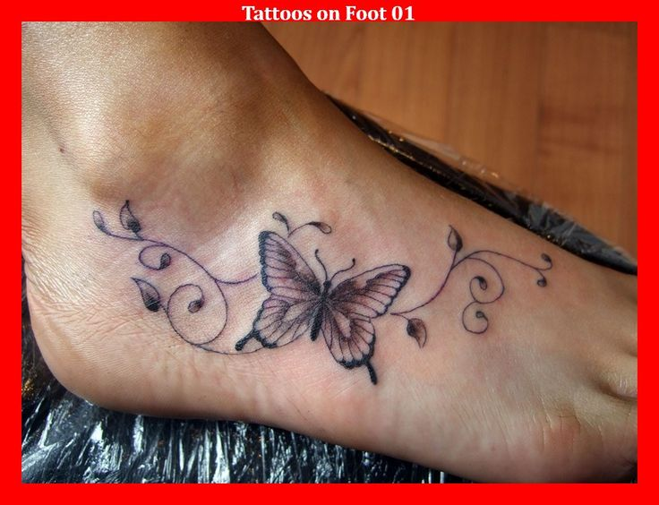 Tattoos on Foot 01