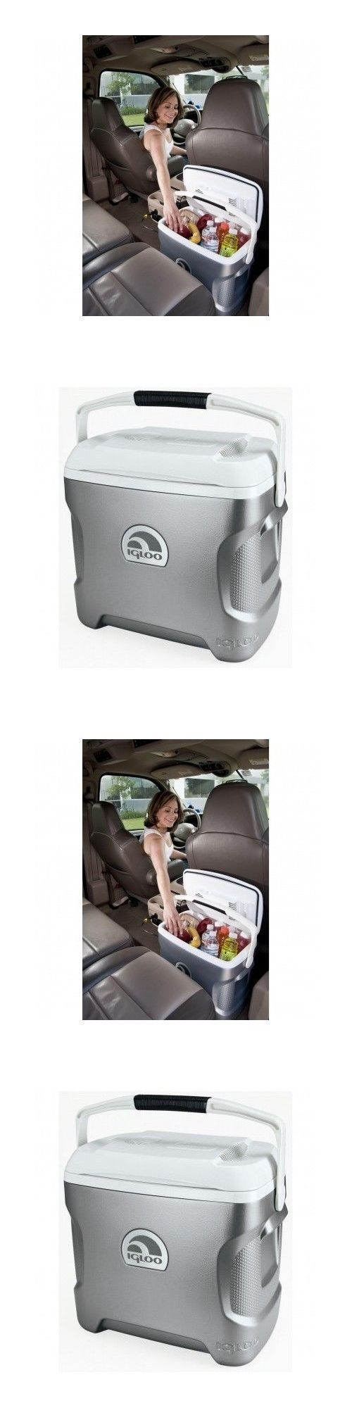 12-Volt Portable Appliances: Iceless Travel Cooler Car Refrigerator Portable Fridge Thermoelectric 12V Dc 28Q -> BUY IT NOW ONLY: $99.95 on eBay!