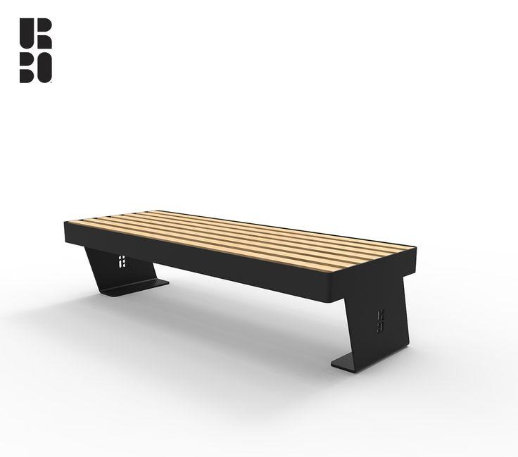 Noir panca / bench wood