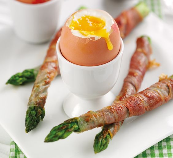 Special dippy egg and soldiers