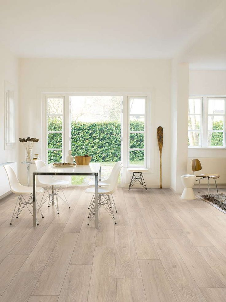 Brighten Up Your Home Or Office With The Quickstep Classic Moonlight Oak Light Laminate Flooring