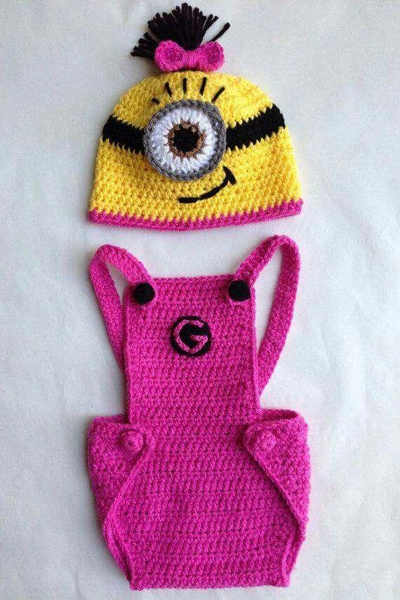 142 best minions images on Pinterest | Knit crochet, Amigurumi ...