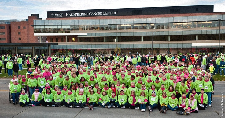 #BreastCancer survivors at the Especially for You Race Against Breast Cancer in Cedar Rapids, IA, on Oct. 7, 2012. This Race is for you!