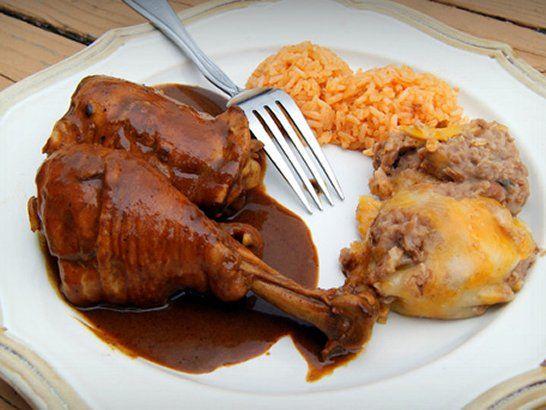 Chicken Mole - Que Rica Vida