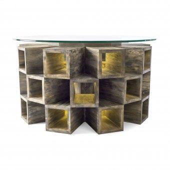 Fireplace Table by Attila Stromajer