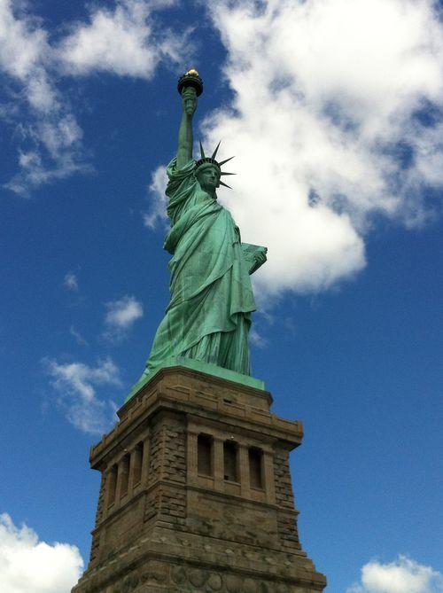 Miss liberty... NYC