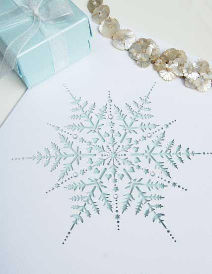 25+ best ideas about snowflake invitations on pinterest | winter, Wedding invitations