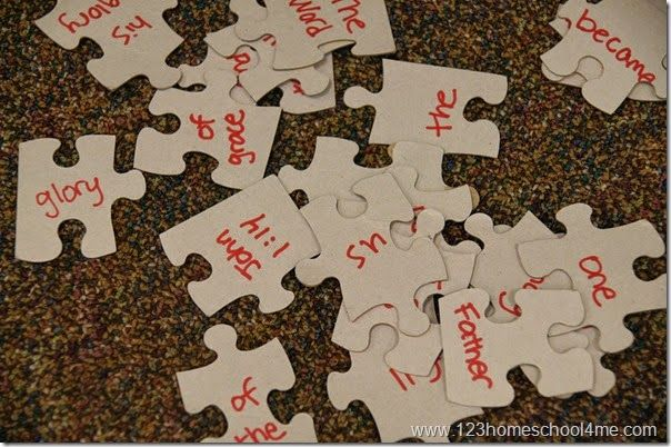 7 Bible Verse Games (work with any verse)