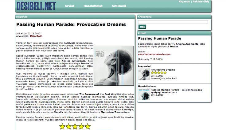 Provocative Dreams review at Desibeli.net