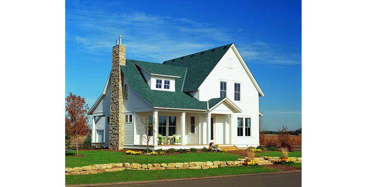American Farmhouse Exterior Example