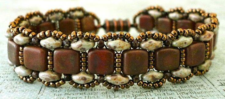 Linda's Crafty Inspirations: Bracelet of the Day: Toying with Tiles